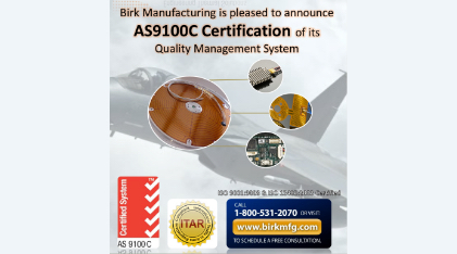 Announce-AS9100-Rev-C-Certification