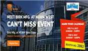 Birk Manufacturing to Showcase at 2017 MD &M West Conference 2