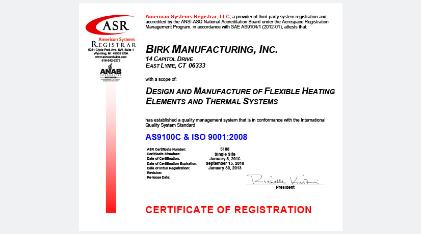 AS9100c-ISO-9001-2008 Birk MFG