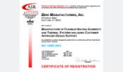ISO-13485-2003 Birk MFG