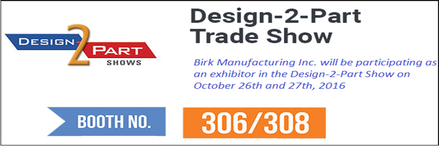 the Prestigious Design-2-Part Trade Show