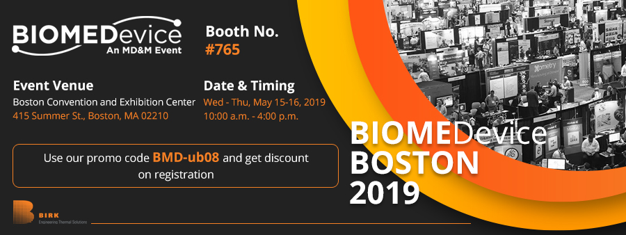 Birkmfg at BIOMEDevice Boston 2019 Blog Banner