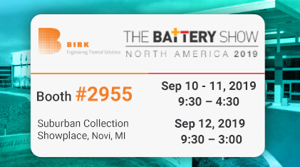 The Battery Show news 2019