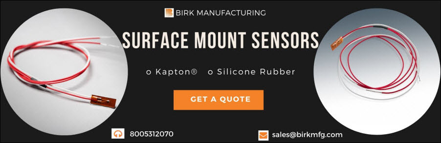 surface-mount RTD sensors