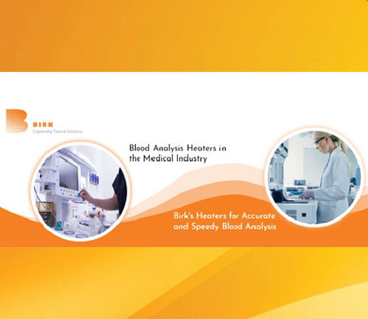 blood analysis heaters for medical industry