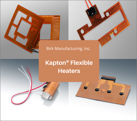 Kapton Flexible Heaters for Medical Application