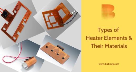 right flexible heater elements