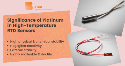 platinum in RTD Temperature Sensor