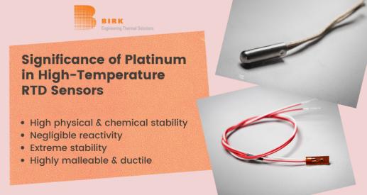 platinum in RTD Temperature Sensor
