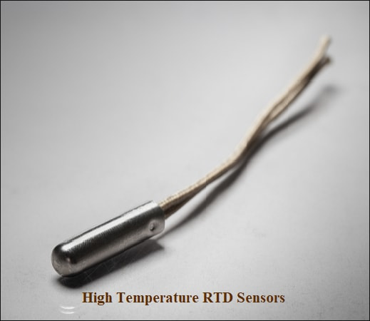 high temperature rtd sensor